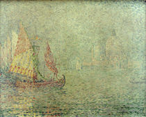 Paul Signac, Venice in the fog by AKG  Images