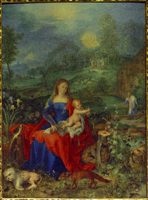 Mary with many animals / Brueghel / 1604 by AKG  Images