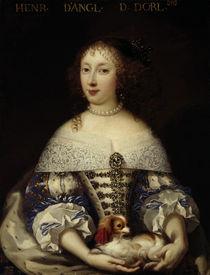 Henriette-Anne Stuart / Gemälde by AKG  Images