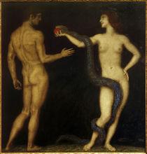 F. von Stuck, Adam und Eva von AKG  Images