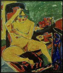 E.L.Kirchner, Akt im Atelier von AKG  Images