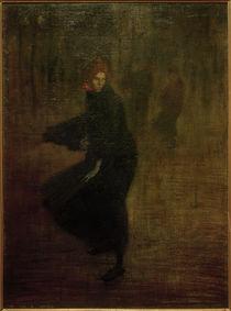Th.-A.Steinlen, Junge Arbeiterin auf der Straße by AKG  Images