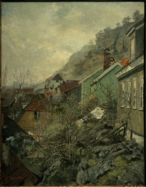 F. Thaulow, Häuser in Kragerø by AKG  Images