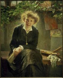 B.Wegmann, Die Künstlerin Jeanna Bauck by AKG  Images