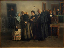 W.Y.Makovsky, The Acquittal / painting by AKG  Images