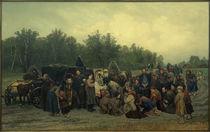 K.A.Sawizki, Der Empfang der Ikone / Gemälde, 1878 von AKG  Images