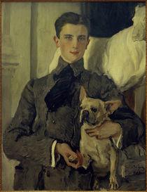 Felix Jussupow, Porträt / Gemälde von V.Serow, 1903 von AKG  Images