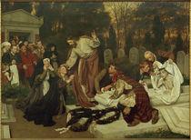 Eduard v. Gebhardt / Raising of Lazarus by AKG  Images