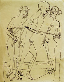 E.L. Kirchner, Dance between women by AKG  Images