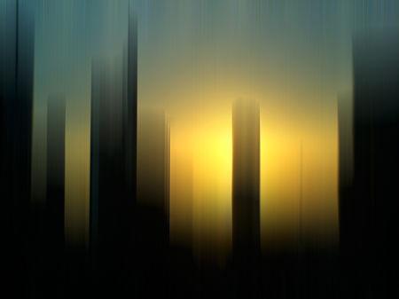 Ffm skyline motion blur