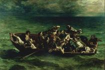 Delacroix / Shipwreck of Don Juan / 1840 by AKG  Images