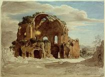 Rom, Tempio delle Minerva Medici (Nymphäum der Horti Liciani / Zchng. von Ernst Fries von AKG  Images