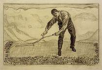 F.Hodler, Mäher auf dem Felde von AKG  Images