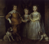 """A.v.Dyck, """"Children of Charles I"""" / painting by AKG  Images"""