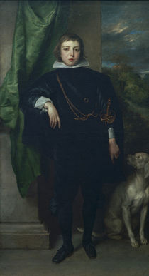 Prince Rupert / Portrait /  c. 1632 by AKG  Images