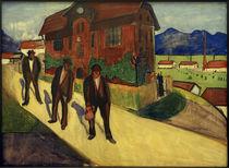 M. v. Werefkin, Feierabend / Gemälde, 1909 von AKG  Images