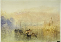 Turner / Venice, Entrance to Grand Canal by AKG  Images