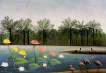 H.Rousseau, The Flamingoes by AKG  Images