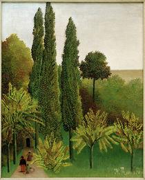 H.Rousseau, Promenade im Park Buttes-Ch. von AKG  Images