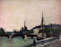 H.Rousseau, View .. of Ile Saint-Louis by AKG  Images
