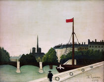 H.Rousseau / View of the Ile Saint-Louis by AKG  Images