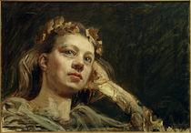 A.Gallen-Kallela, Heroisches Porträt von Mary by AKG  Images