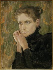 A.Gallen-Kallela, Porträt der Schauspielerin Ida Aalberg by AKG  Images