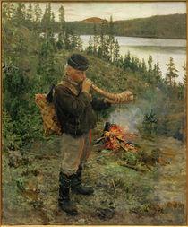 A.Gallen-Kallela, Hirtenjungen asu Paanajärvi von AKG  Images