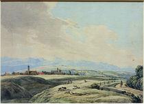 W. v. Kobell, Blick auf Weilheim by AKG  Images