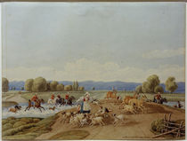 W. v. Kobell, Die Hirschhatz by AKG  Images