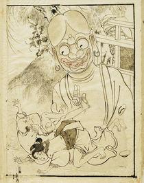 Hokusai, Erotische Szene von AKG  Images