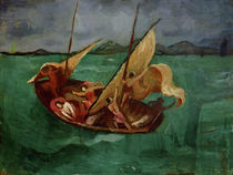 August Macke / Jesus in the Boat by AKG  Images