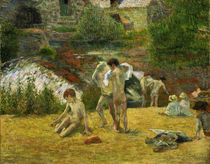 P.Gauguin / Young Bretons in the Bath by AKG  Images