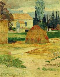 P.Gauguin, Bauernhaus in Arles von AKG  Images