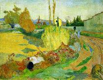 P.Gauguin, Landschaft bei Arles von AKG  Images