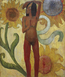 P.Gauguin, Naked female figure by AKG  Images