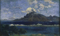 P.Gauguin, Landscape of Te Vaa / 1896 by AKG  Images