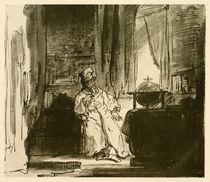 Rembrandt, Der Philosoph von AKG  Images