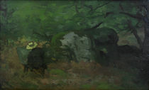 Sisley / The painter Monet... /  c. 1865 by AKG  Images