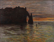 Claude Monet / Sunset / Painting / 1883 by AKG  Images