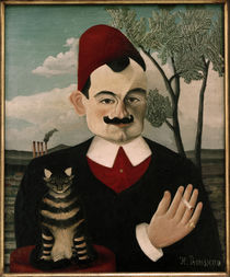 Pierre Loti / Painting by Henri Rousseau by AKG  Images