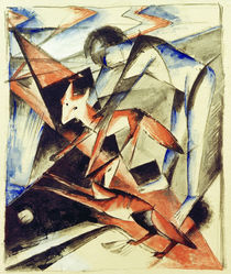 Franz Marc, Noah and the fox by AKG  Images