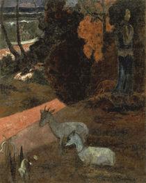P.Gauguin / Tariri Maruru / Ptg./ 1897 by AKG  Images