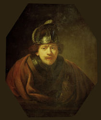 Rembrandt / Self-portrait / Kassel by AKG  Images