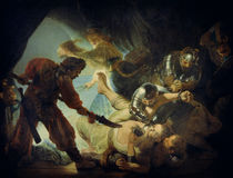 Rembrandt / The Blinding of Samson /1636 by AKG  Images