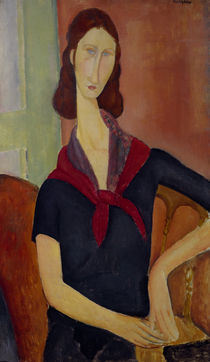 A.Modigliani, Jeanne Hébuterne by AKG  Images