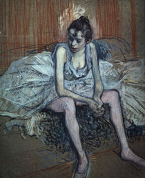 Toulouse-Lautrec / Sitting Dancer / 1889 by AKG  Images