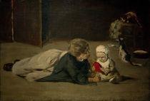 M.Liebermann, Spielende Kinder – Studie von AKG  Images