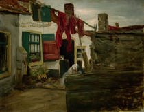 Liebermann / Village and Clothesline by AKG  Images