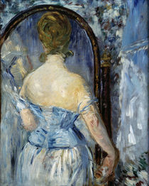 Edouard Manet / In front of the Mirror by AKG  Images